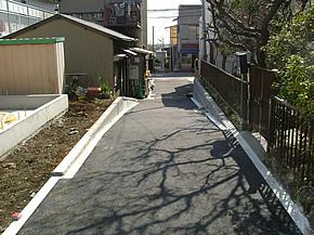 私道の整備工事